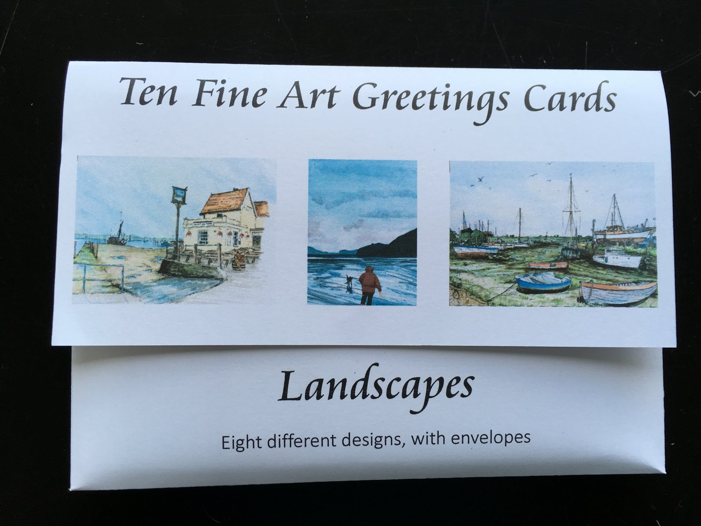 Set of 10 Art Cards - Landscapes