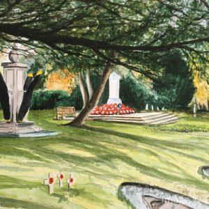 Walton Memorial garden