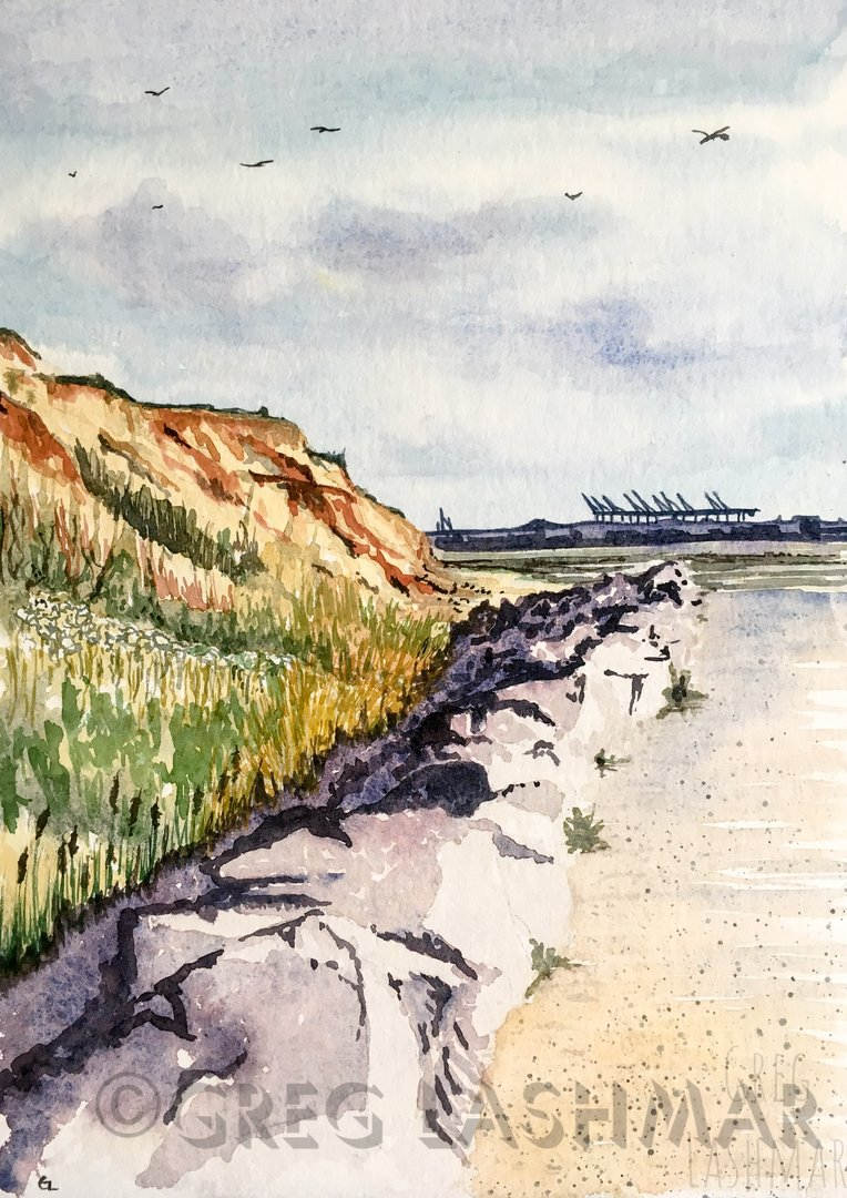 Landscape - Crag Walk, Walton on the Naze